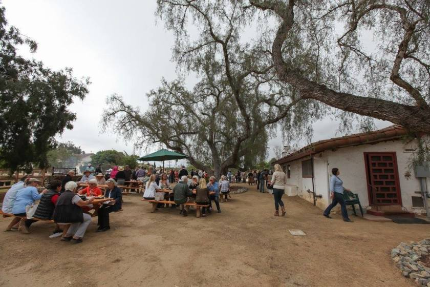 Osuna Ranch during a past Celebrate Osuna event (held several years before the COVID-19 pandemic).