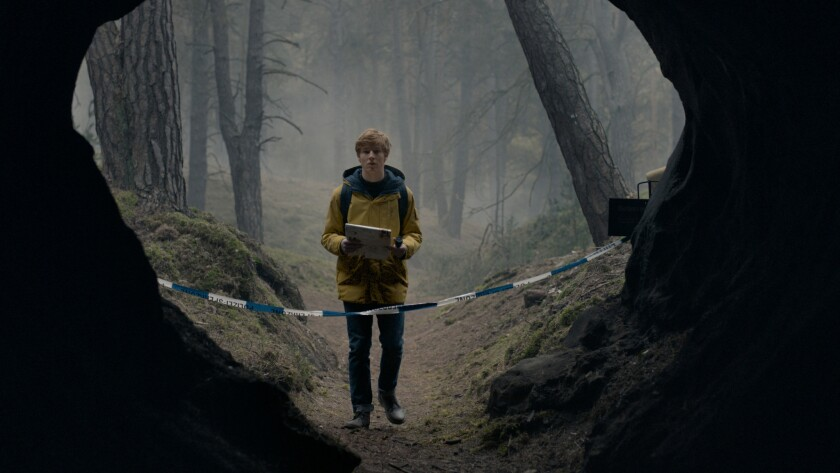 "Louis Hofmann in a scene from ""Dark."" Credit: Netflix"