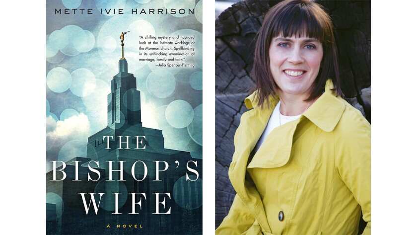 """Cover of the book """"The Bishop's Wife: A Novel"""" by Mette Ivie Harrison"""