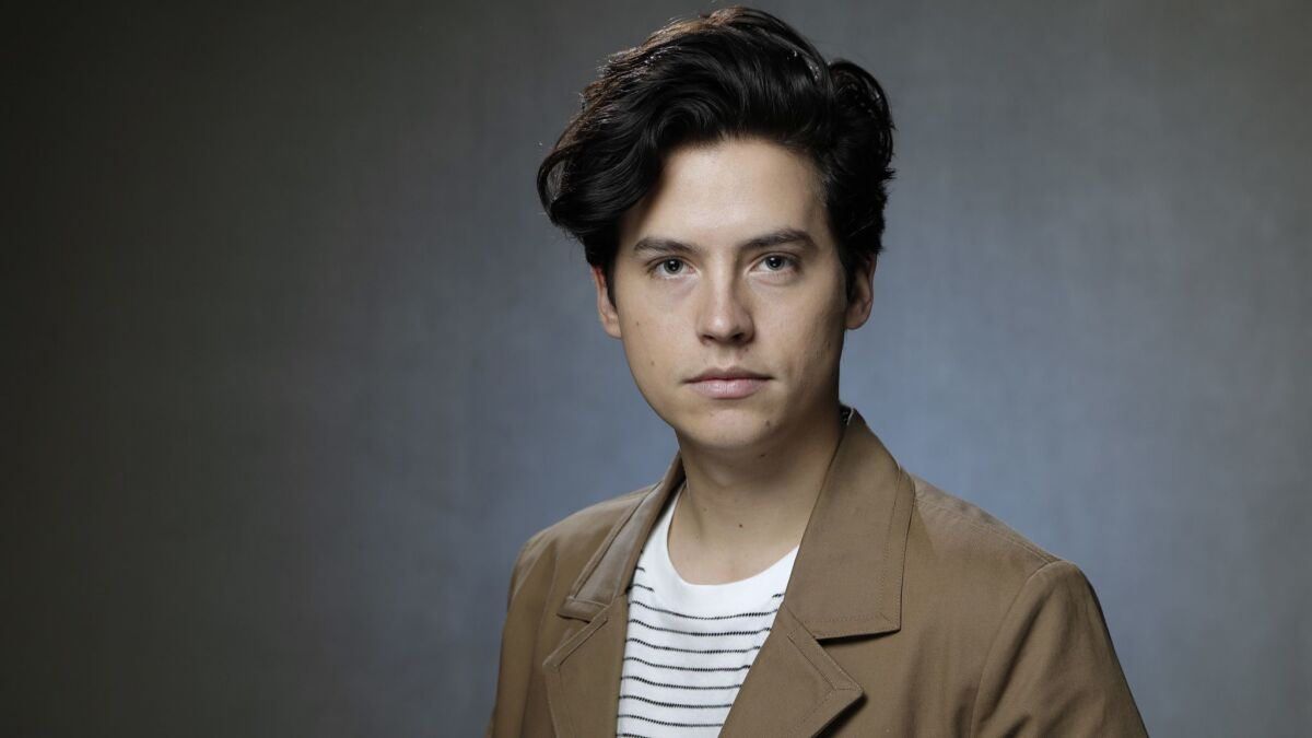 Riverdale' heartthrob Cole Sprouse goes for leading man