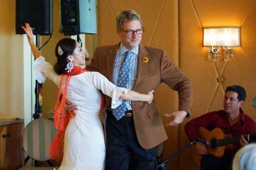 La Jolla Music Society Flamenco Dance Lunch 12-5-