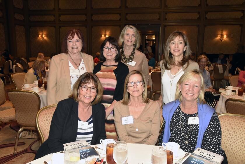 Standing: Dawn Ross, Jeanne Decker, Julie Pardee, Judy Rowles. Seated: Nicki Brandt, Marilyn Nolen, Lacy Logan