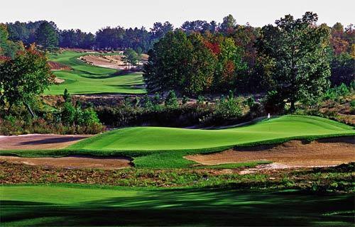 North Carolina golfing