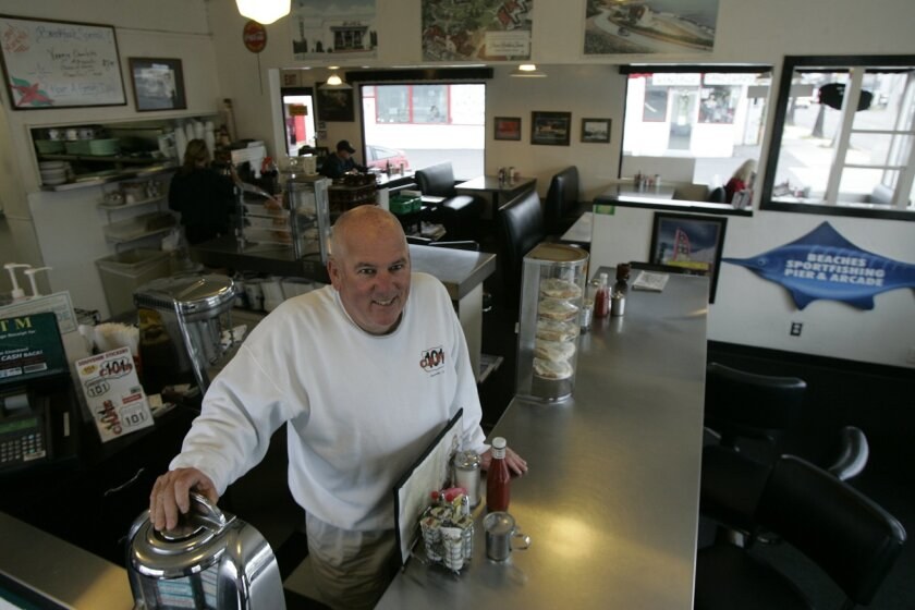 Oceanside Natives Sell Historic 101 Cafe The San Diego Union Tribune