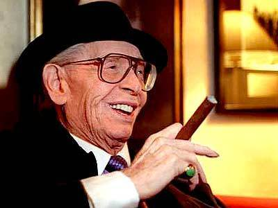 Milton Berle celebrates his 91st birthday