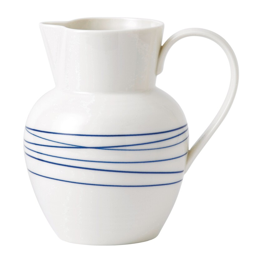 Blue and white pitcher from Royal Doulton. Credit: Royal Doulton