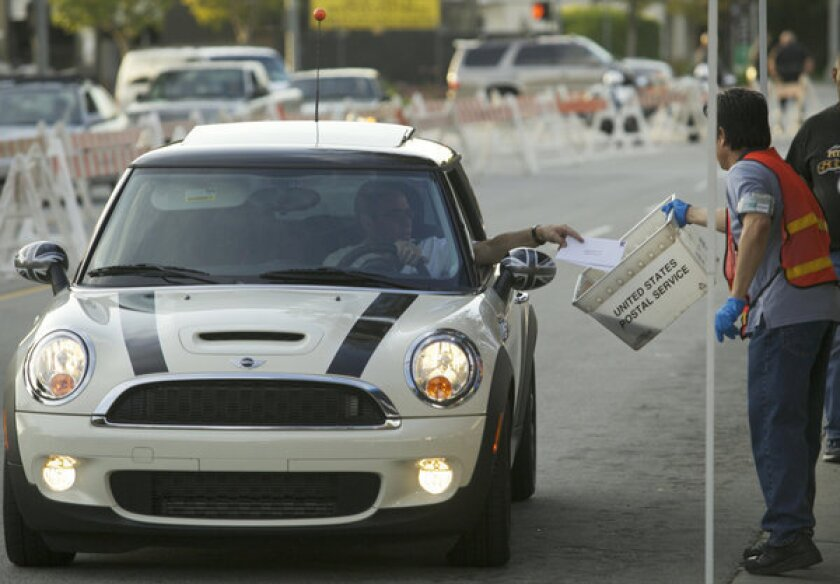 A tax day motorist in Pasadena in 2010. On average, researchers found, there were 226 traffic deaths on tax day -- 13 more than on non-tax days.