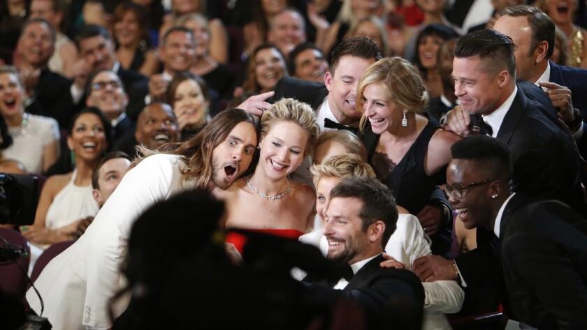 Ellen DeGeneres took an epic selfie at the Oscars in 2014.