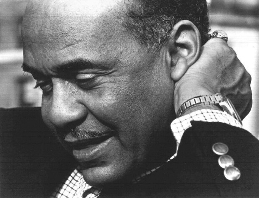 """Author Ralph Ellison's novel """"Invisible Man,"""" published in 1952, explores the effects of racism on victims and perpetrators."""