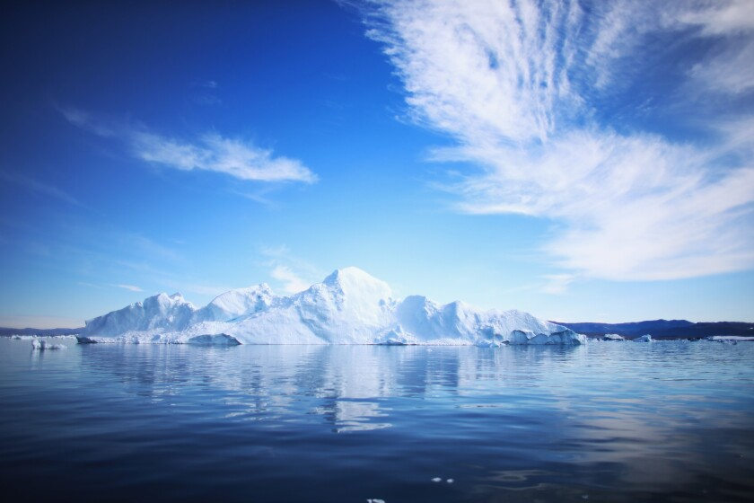 Greenland iceberg under study by NSF-funded climate change researchers. Is there room for ideologically-motivated oversight on this berg?