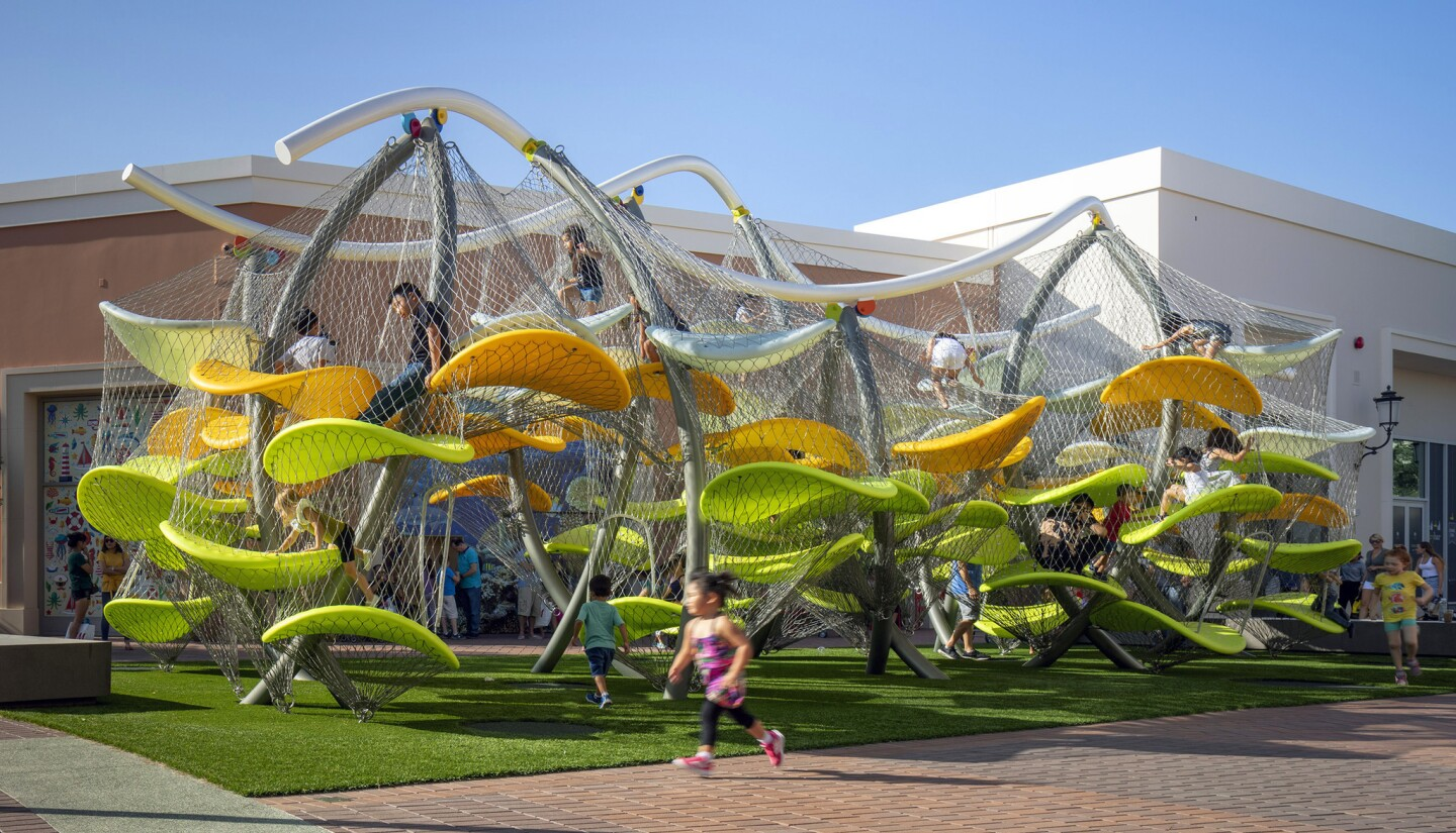 Luckey Climbers are the 'arena rock' stars of children's play structures