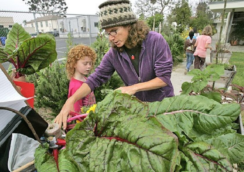 Mindy Swanson helps Birney 
