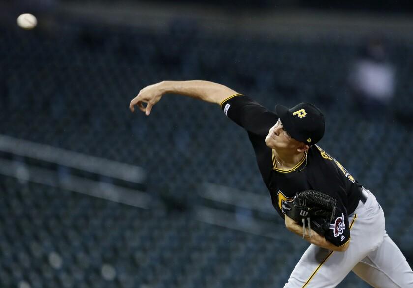 Nick Burdi of the Pittsburgh Pirates