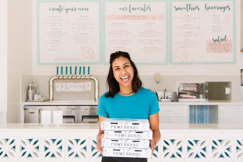 Anisha Blodgett, founder of Powerhaus Wholesome Pizza & Eats