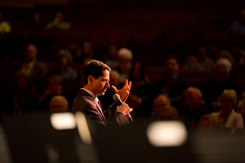 Nuvi Mehta of the San Diego Symphony