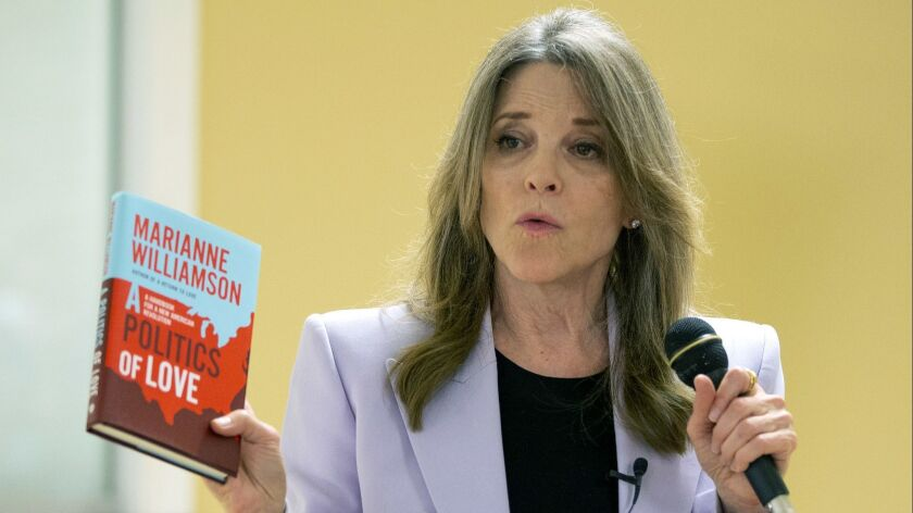 Democratic candidate for US President Marianne Williamson in New Hampshire, Brentwood, USA - 23 May 2019