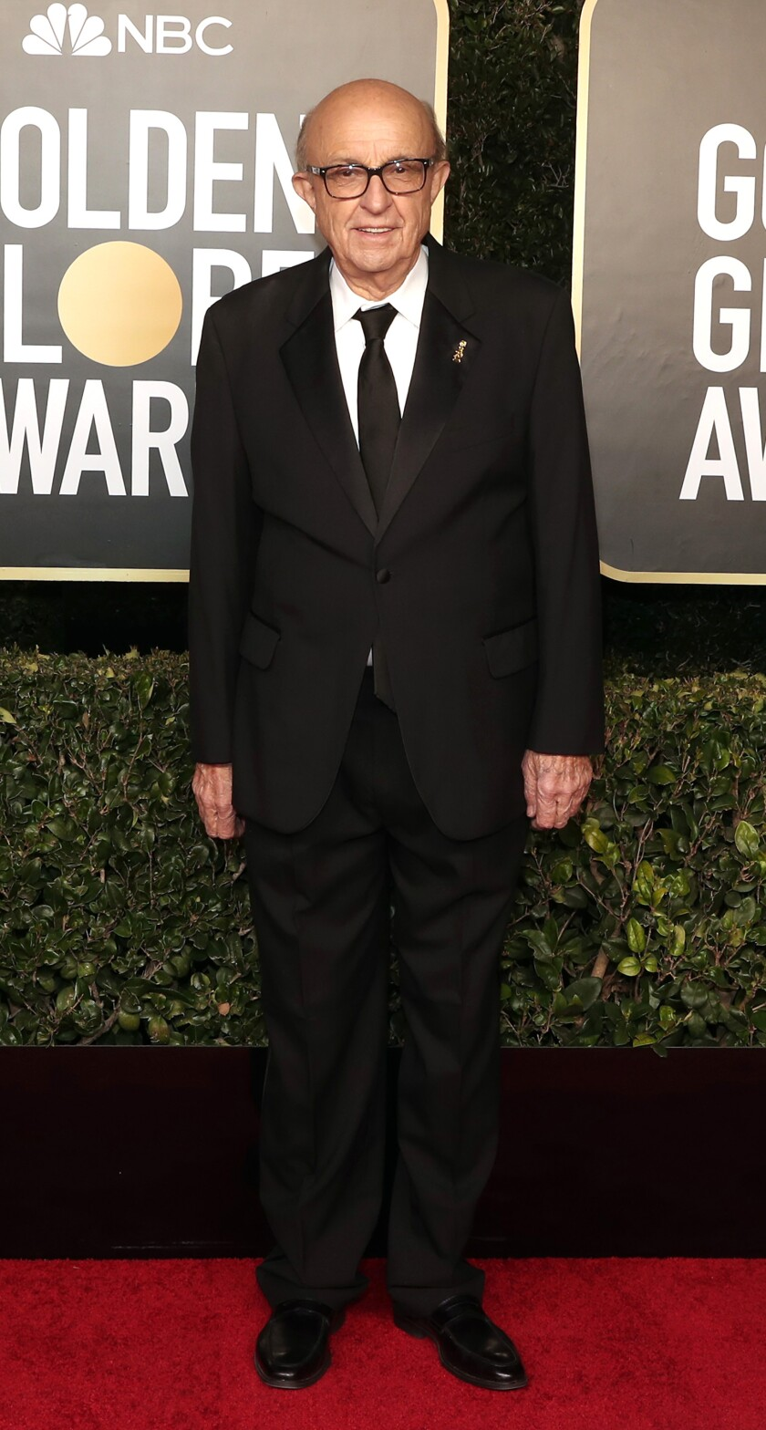 Ali Sar on this year's Golden Globes red carpet