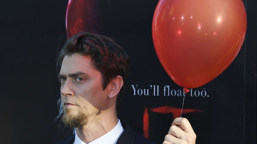 """""""It"""" director Andy Muschietti at the film's Hollywood premiere on Sept. 5."""