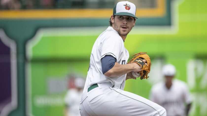Padres pitching prospect Tom Cosgrove played the 2018 season at low Single-A Fort Wayne.