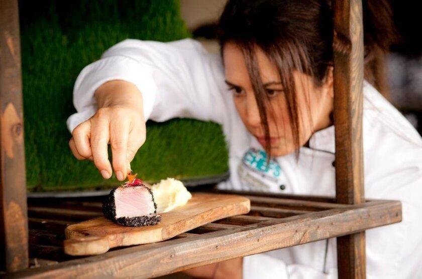 Chef Flor Franco.