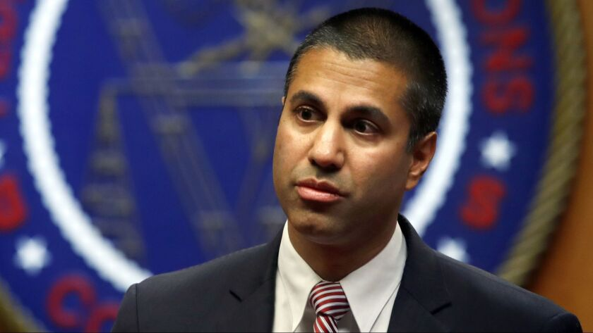 Ajit Pai is chairman of the Federal Communications Commission.