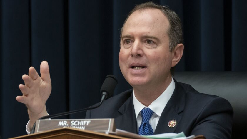 Column: Forget what William Barr wrote about collusion. Listen to Adam Schiff instead