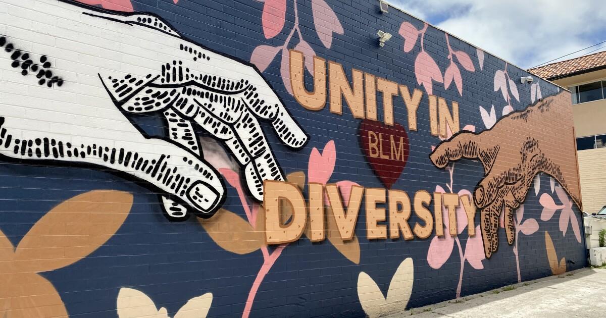 Tech :  «Nous voulons que tout le monde guérisse»: une nouvelle peinture murale à La Jolla présente le message «Unité dans la diversité»  , avis