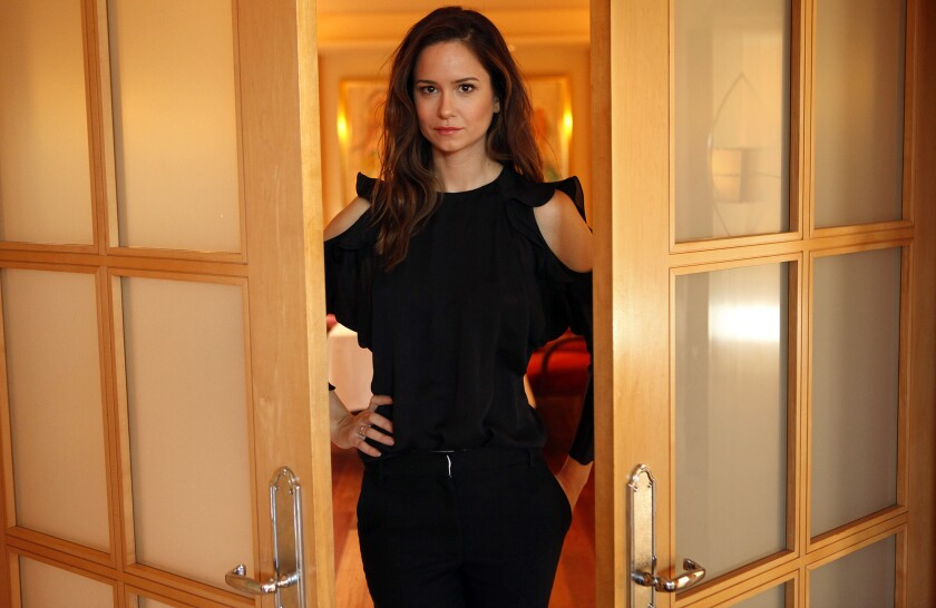 """Katherine Waterston will star in the """"Harry Potter"""" spinoff """"Fantastic Beasts and Where to Find Them."""""""