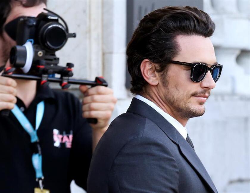 El periódico The New York Times canceló un acto público previsto para el miércoles 10 de enero con el actor y director James Franco días después de que varias actrices le acusaran en las redes sociales de diferentes episodios de acoso sexual. EFE/ARCHIVO