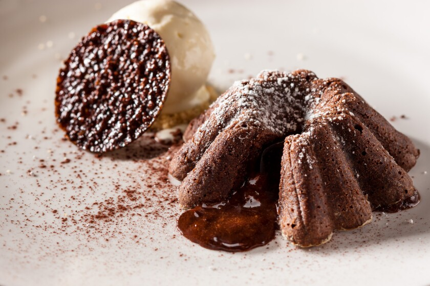 The best molten chocolate cake is also the easiest to make