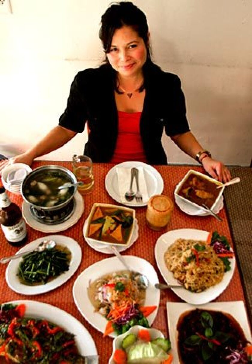 JoAnn Stougaard has eaten about half of Jitlada's dishes.