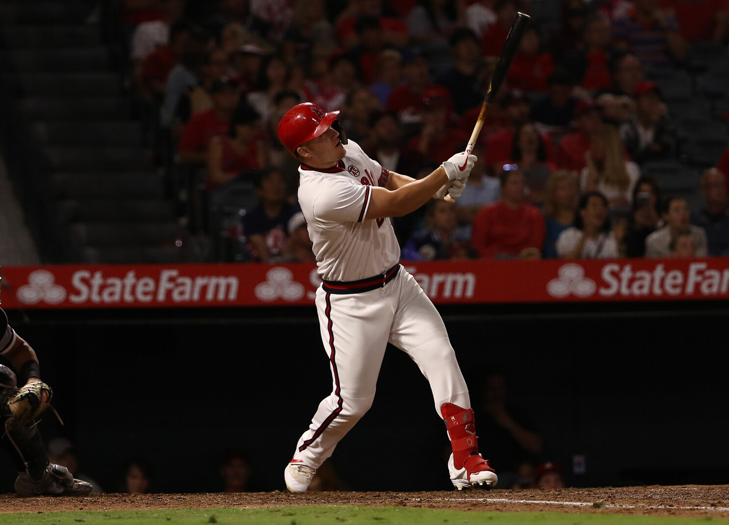 Mike Trout does it all except win as Angels fall to White Sox