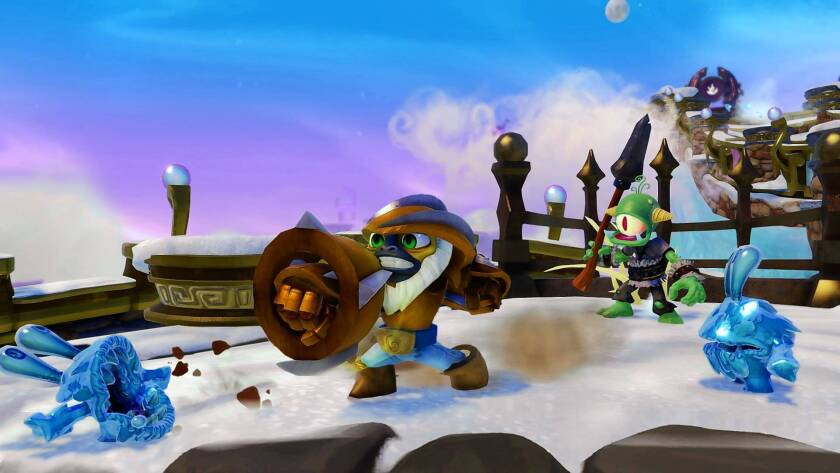 """""""Skylanders SWAP Force Grilla Jet"""" is among Activision's titles."""