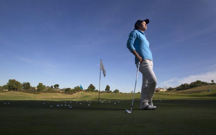 Hannah Yun, 19, recently earned her LPGA tour card.