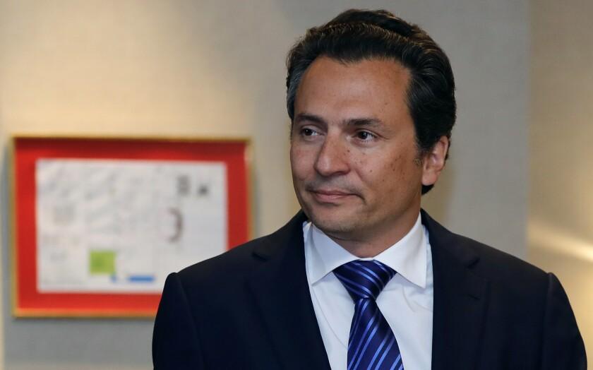 El exdirector de Petróleos Mexicanos (Pemex) Emilio Lozoya. EFE/José Méndez/Archivo