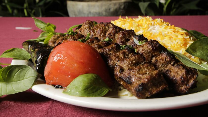 Raffi's Place, a Persian restaurant in Glendale, is celebrating its 25-year anniversary this year.