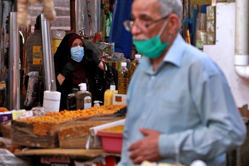 Virus Outbreak Iraq Ramadan