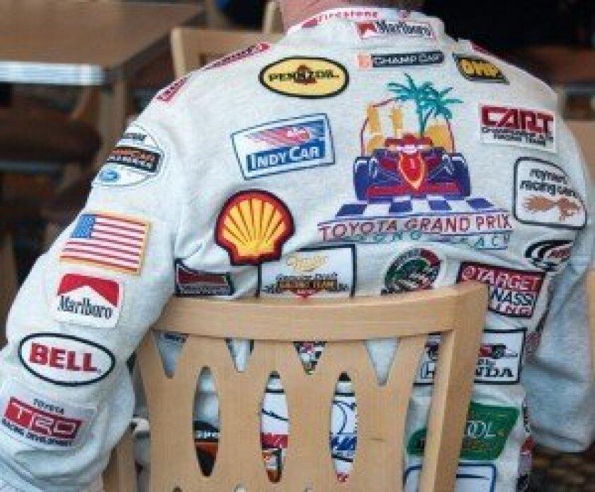 A racing fan