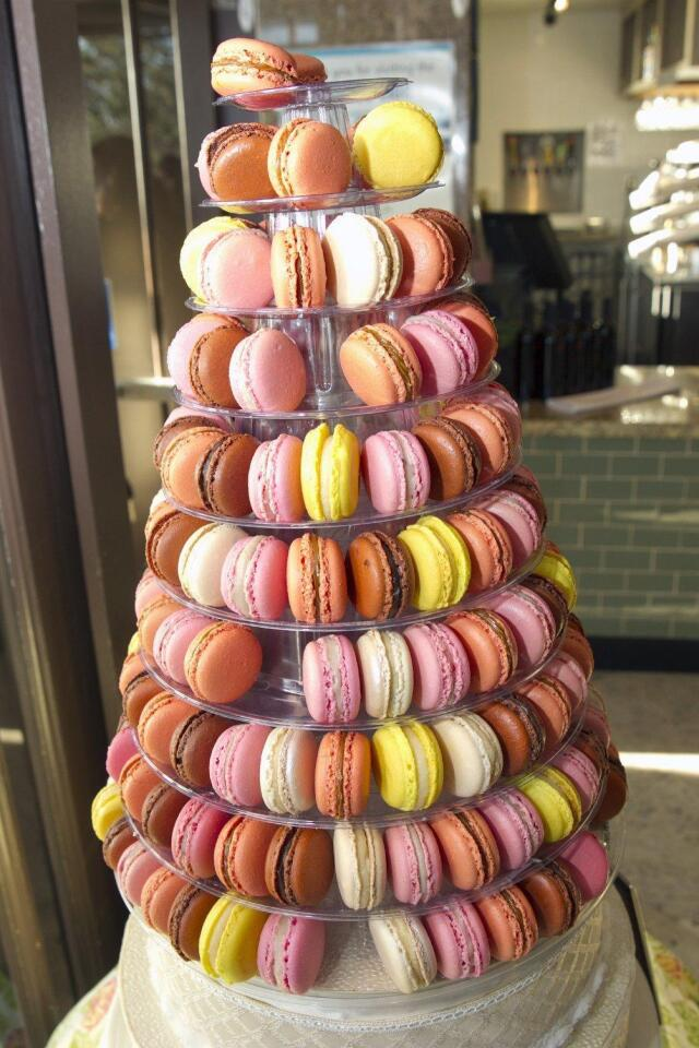 Macaroon Tree at the reception