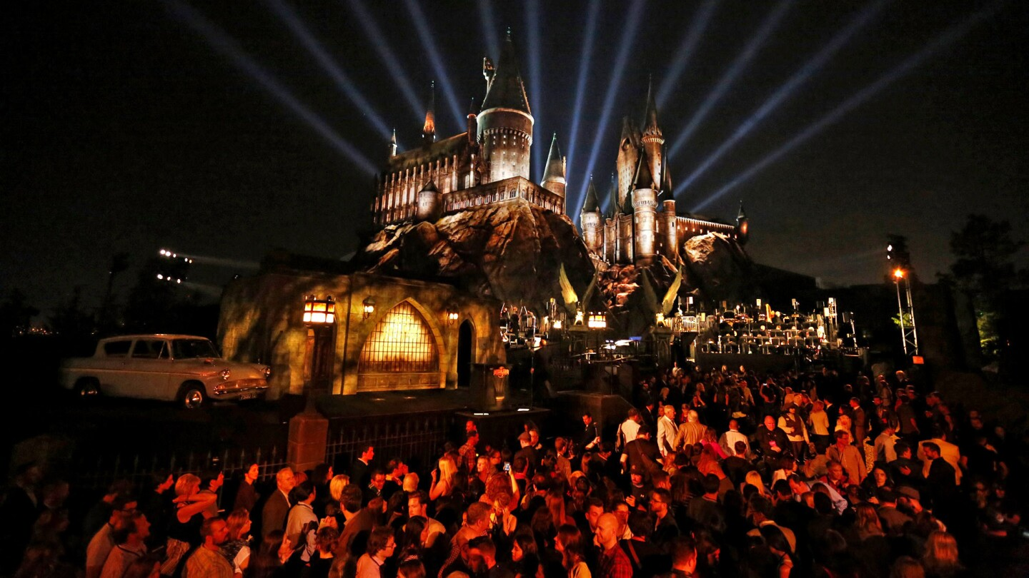 The Wizarding World of Harry Potter opens at Universal Studios Hollywood