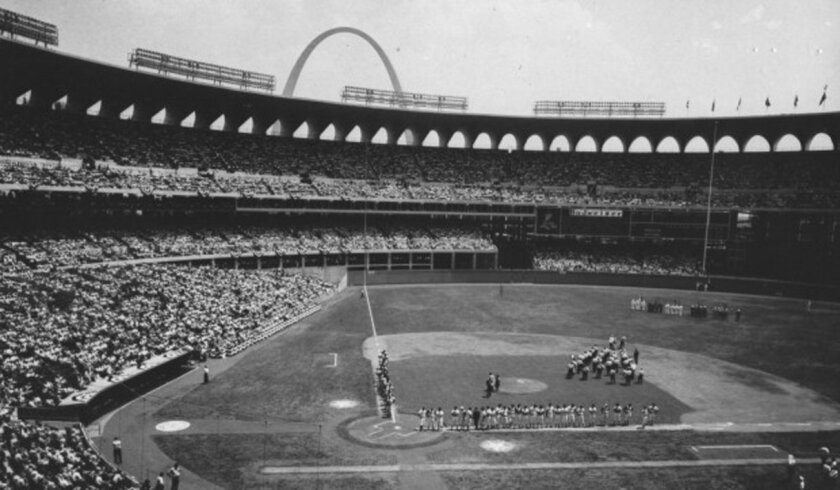 Busch Memorial Stadium was just a couple of months old when it hosted the 1966 All-Star Game.