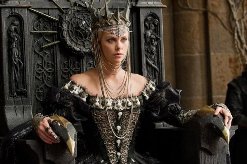 "Charlize Theron stars in ""Snow White and the Huntsman."""