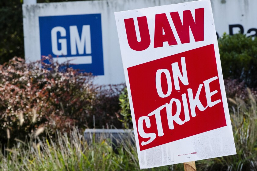 The GM strike contributed to the loss of 41,600 auto factory jobs in October, but the settlement will likely lead to a rebound in the coming months.