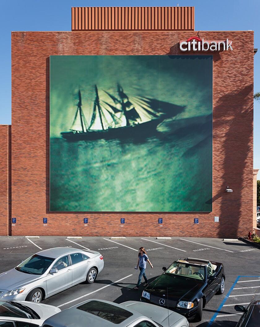 """Murals of La Jolla: Ann Hamilton's """"at sea"""""""