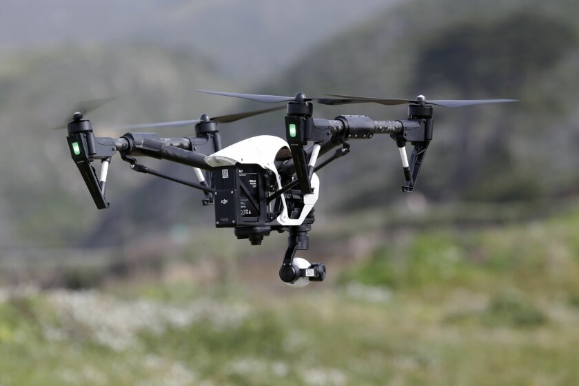 A drone -- file photo (AP Photo/Marcio Jose Sanchez,)