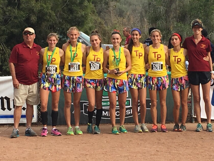 The TPHS girls cross country team are headed to the state meet this weekend.