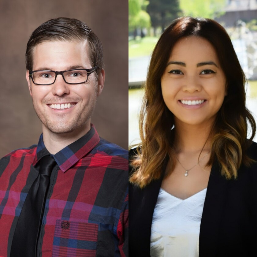 Dr. Ryan Roemer and Dr. Theresa Cao work in Mission Hospital of Mission Viejo's ASPIRE program for adolescent mental health.