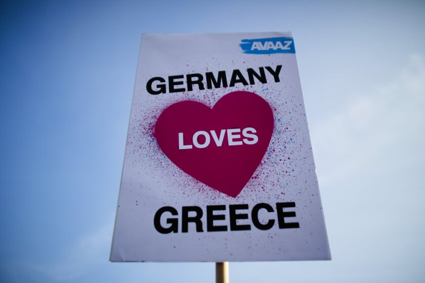 Germany-Greece meeting