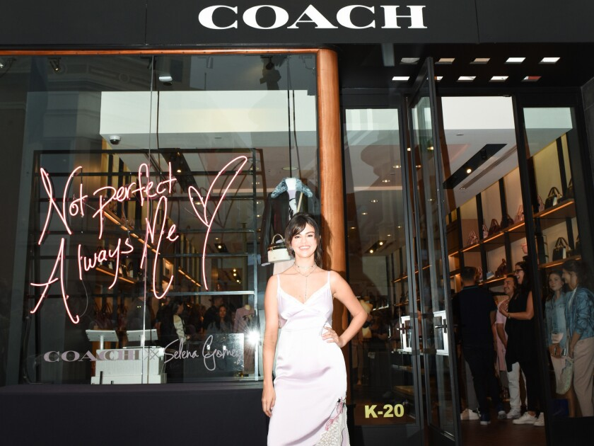 Coach Celebrates: The Launch Of Coach X Selena Gomez