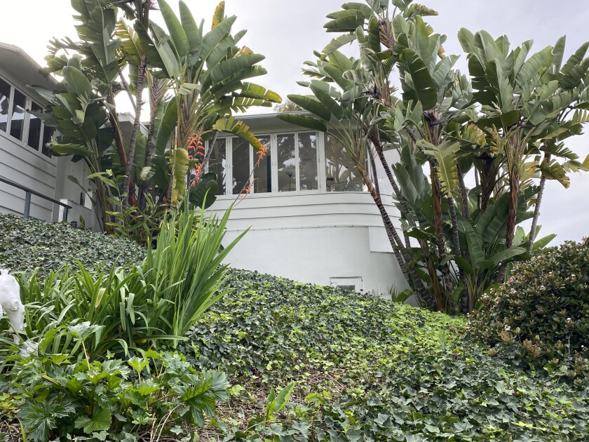 This is the Mt. Soledad home Barry Goldwater had built for his family in 1940, and where Hoagy Carmichael once entertained dinner guests.